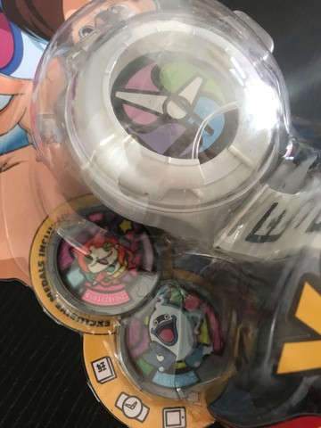 Yo-kai yokai Watch original Hasbro series 1 com 02 medalhas  - Foto 4