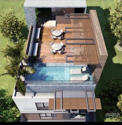 Apartamento de três quartos com cobertura privativa completa - Foto 3