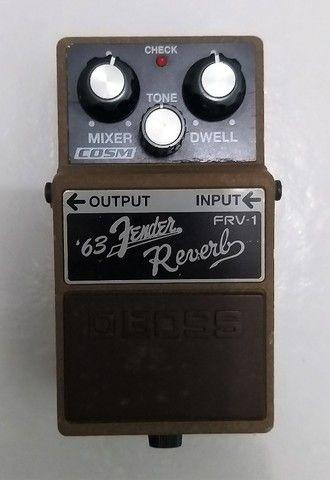 Pedal Boss Fender Reverb 63