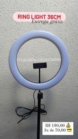 Ring light 36cm FRETE GRATIS + DESCONTO