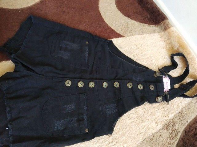 Macaquinho jeans  - Foto 4