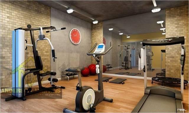 Apartamento à venda com 2 dormitórios em Jardim camburi, Vitória cod:8628 - Foto 2