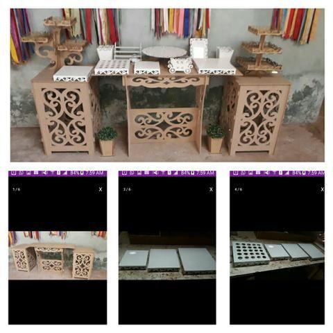 Móveis Provençais e objetos de decoração