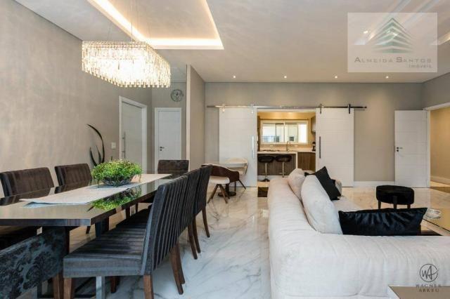 Apartamento à venda, 185 m² por r$ 1.549.000,00 - campo comprido - curitiba/pr - Foto 8