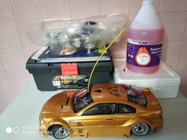 Thunder Tiger 1/10 Nitro TS4 BMW Salvat Completo