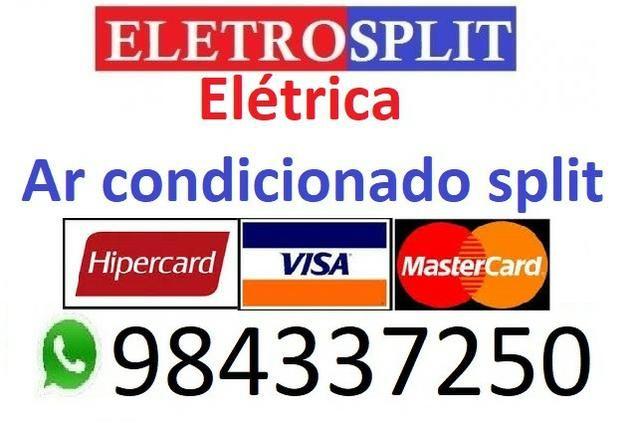 Eletricista/ instalação manutenção ar condicionado split/ eletrecista