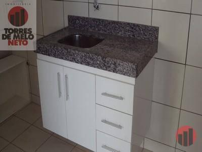 Apartamento com 1 dormitório para alugar, 45 m² por R$ 700/mês - Parangaba - Fortaleza/CE - Foto 9