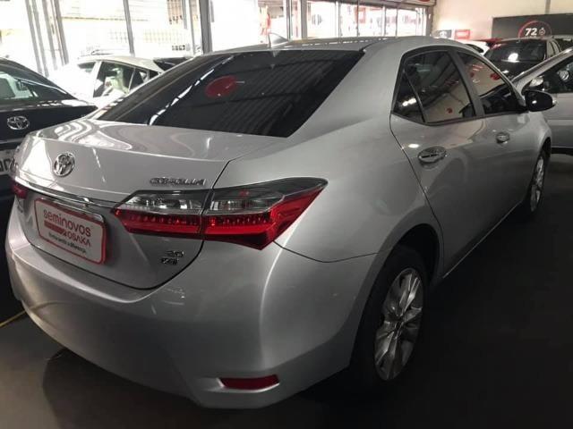 Toyota Corolla 27.000KM! XEi Automático - Modelo Novo - 2018 Só comigo via * - Foto 8