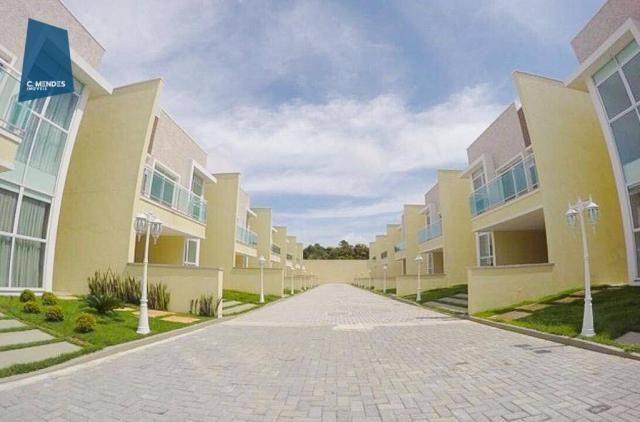 Casa à venda, 205 m² ou 213 m², 3 ou 4 Suítes, 3 vagas, Sapiranga, Fortaleza. - Foto 3