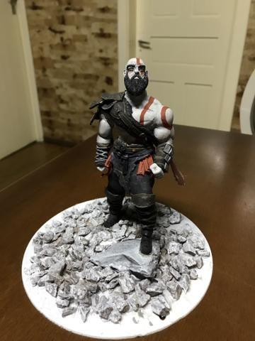Boneco colecionável - kratos - Foto 6