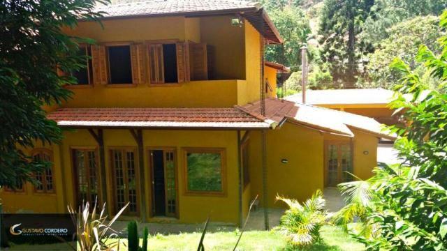 Casa residencial à venda, carangola, petrópolis - ca0002. - Foto 4