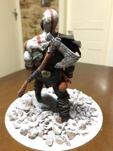 Boneco colecionável - kratos