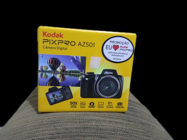 Câmera fotográfica Kodak Az 501. / Modo Pet / 180° Panorâmica / 50 X Zoom Óptico - Foto 2