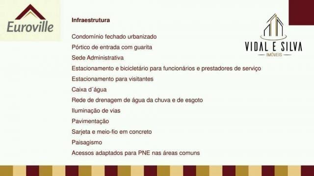 Condomínio euroville, terrenos, lotes residenciais, 160m² à 365m² - centro - ananindeua/pa - Foto 15