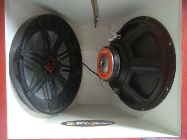 "Kit Subwoofer Selenium 15sw14A de ""15"" polegadas e de 600w (automotivo) - Foto 2"
