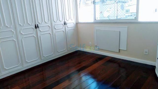 Apartamento com 3 dormitórios para alugar, 105m² - Icaraí - Niterói/RJ - Foto 6