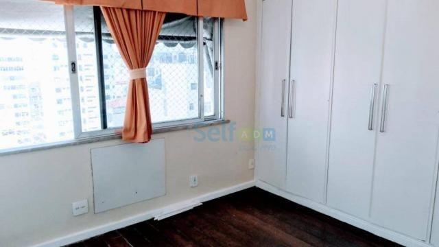 Apartamento com 3 dormitórios para alugar, 105m² - Icaraí - Niterói/RJ - Foto 13