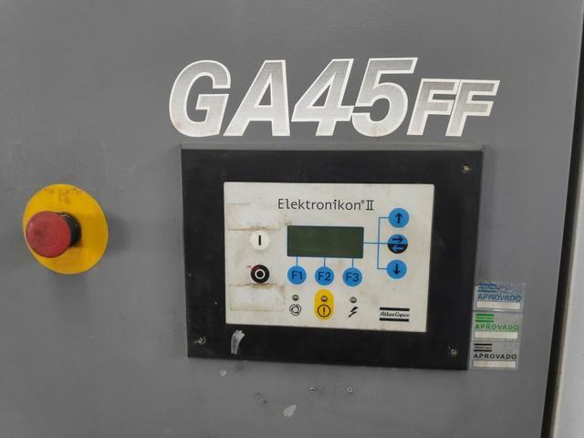 Compressor de ar atlas GA45 FF - Foto 2