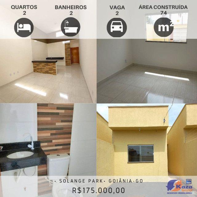 Casa 2 quartos sendo um suíte, R$175.000,00 Moinho dos Ventos - Goiânia - GO