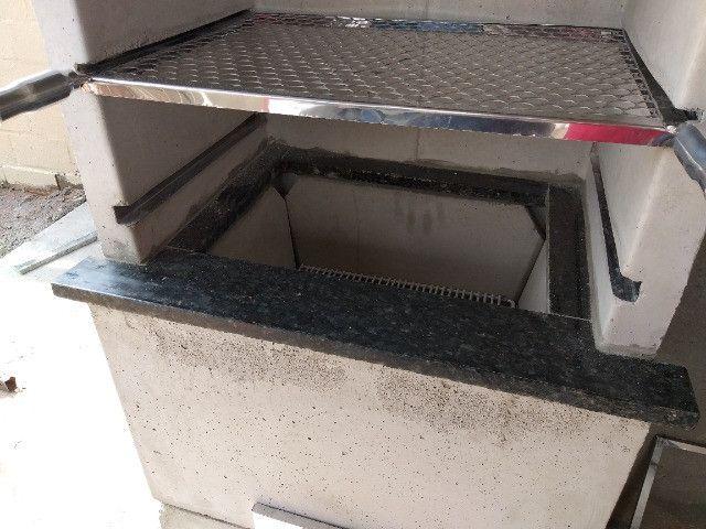 Churrasqueira Predial Quadrada Lisa - Para Revestir - Foto 3