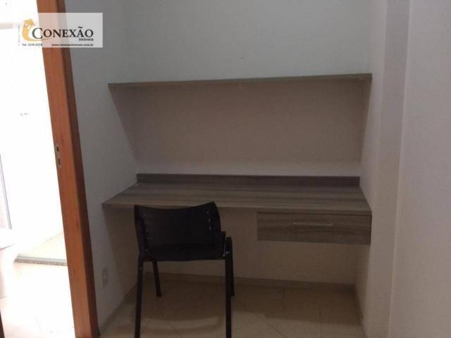 Apartamento com 1 dormitório para alugar, 30 m² por R$ 1.225,00/mês - Centro - São Carlos/ - Foto 8