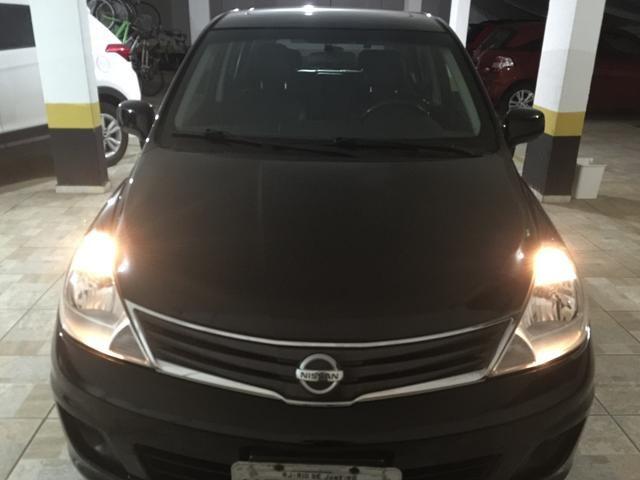 Nissan Tiida 1.8SL FLEX - IPVA 2020 pago!!! bancos de couro, teto solar - Foto 2