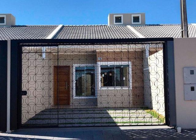 Vende-se casas novas no Lot. Siena, Bairro Esmeralda - entrada facilitada