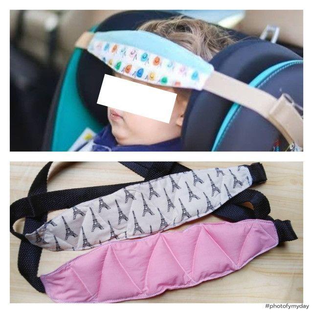 Protetor de Cabeça para cadeirinha infantil veicular