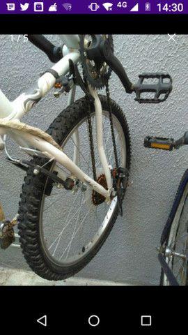 Vanda ou troca bicicleta aro 26 Caloi - Foto 4