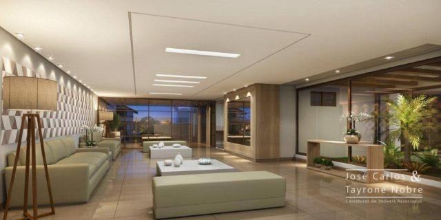 Repasse 130m² Eco Oceania! Apartamento com 3 suítes - Vista mar - Varanda gourmet - Jardim - Foto 3
