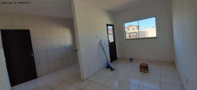 Casa para Venda em Várzea Grande, Novo Mundo, 2 dormitórios, 1 banheiro, 2 vagas - Foto 8