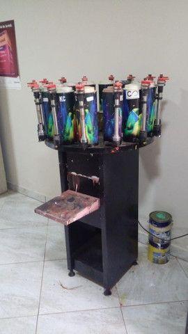 Maquina de pigmentar batedor junto com pigmentos - Foto 4