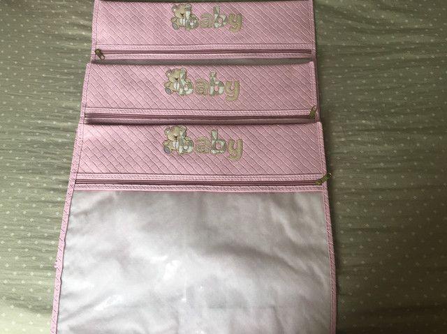 Kit com 3 sacos organizadores para maternidade - Foto 2