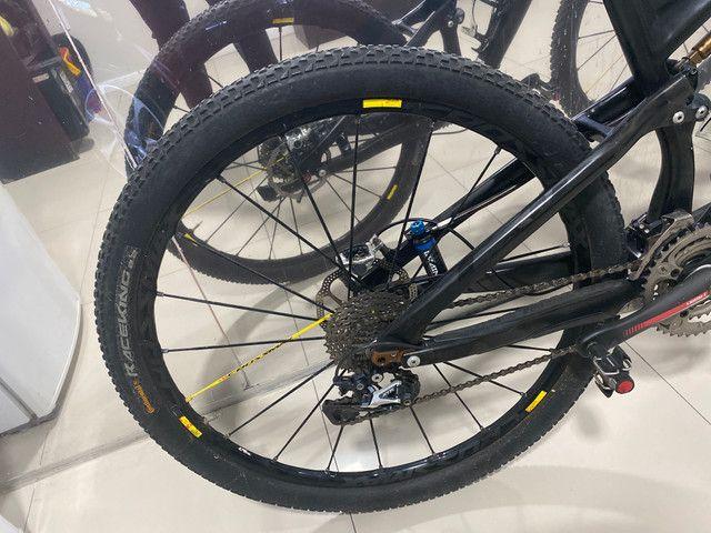 REVISADA!!Bicicleta MTB SPECIALIZED S- WORKS EPIC 29 TAMANHO M FULL - Foto 6