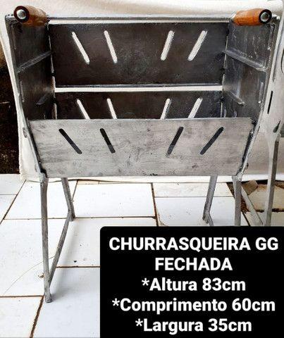 CHURRASQUEIRAS DESMONTÁVEIS A PARTIR DE 120,00 REAIS