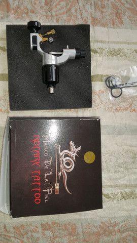Tattoo máquina Rotativa Standard Hummingbird HB-2 tatuagem - Foto 6