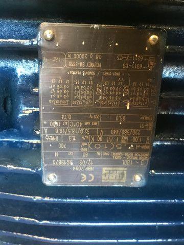 Motor Web 10 cv em 700 rpm trifasico - Foto 2