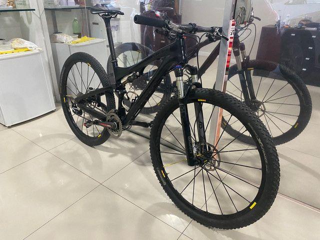 REVISADA!!Bicicleta MTB SPECIALIZED S- WORKS EPIC 29 TAMANHO M FULL