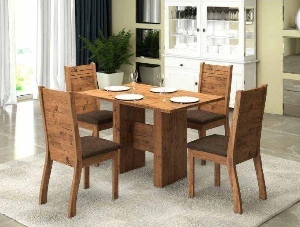 Mesa Jantar 4 Cadeiras apenas