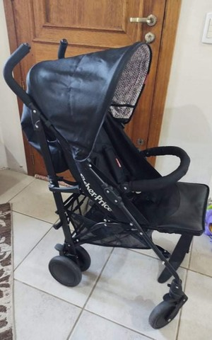 Carrinho de bebê guarda-chuva Fisher Price - Foto 2