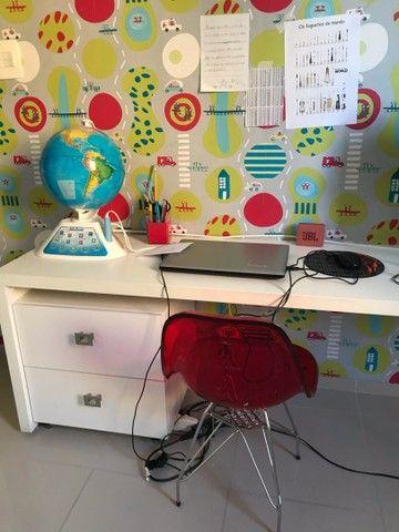Cadeira infantil escritório acrílico  - Foto 2