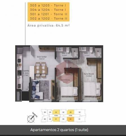 Apartamento com 2 dormitórios à venda, 65 m² por R$ 625.000,00 - Balneário - Florianópolis - Foto 15
