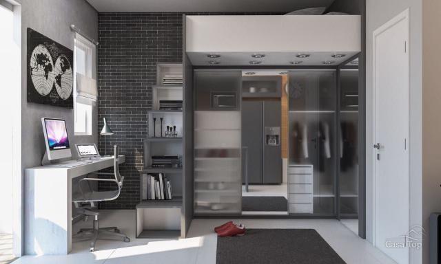 Apartamento à venda com 1 dormitórios em Centro, Ponta grossa cod:794 - Foto 8