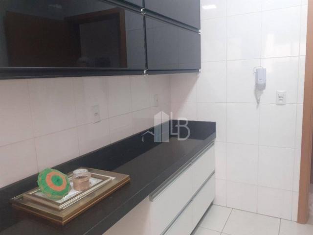 Apartamento com 3 quartos para alugar, 90 m² por R$ 2.200/mês - Centro - Uberlândia/MG - Foto 12