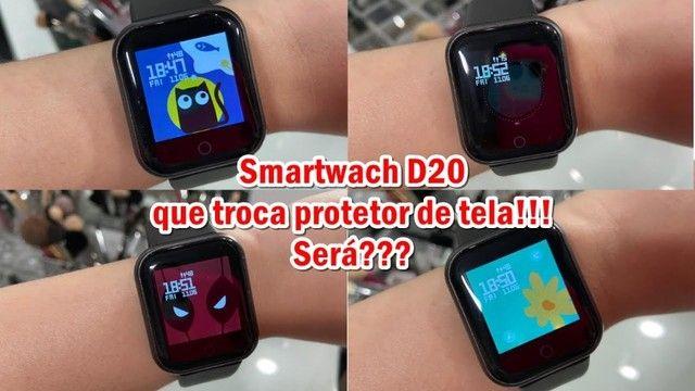 Relógio smartwatch y68 - Foto 6