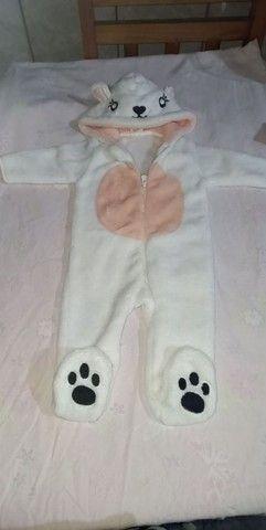 Macacão menina soft 0 a 3 meses