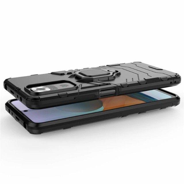 Capa 4 em 1 Anti Impacto Choque Militar Xiaomi Note 10 pro / 10 pro max, aceito cartão - Foto 5