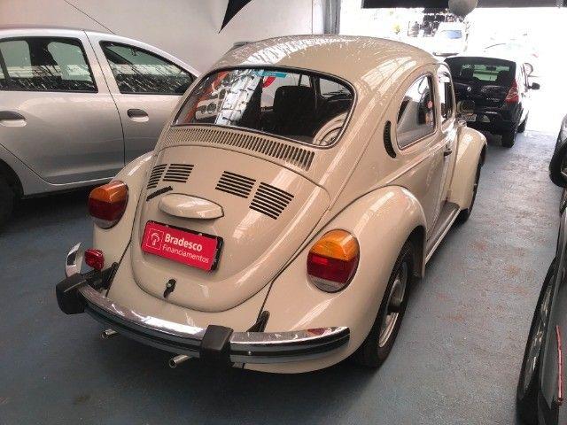 VW Fusca 1600 - Placa Preta - Colecionador - Foto 6