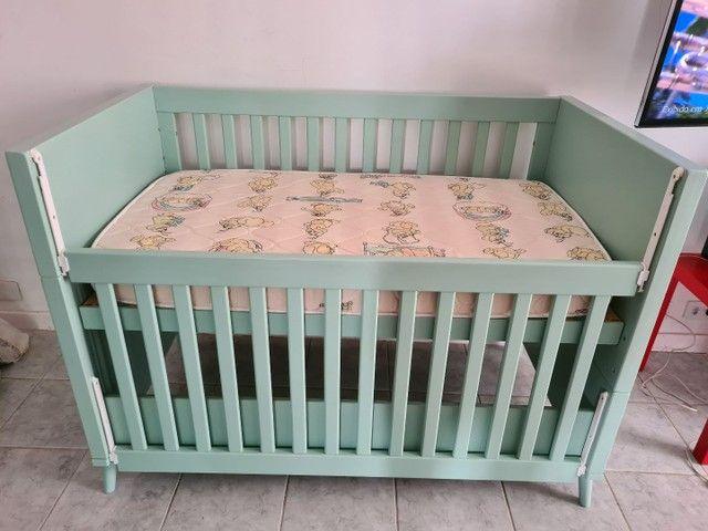 Berço + Colchão + 2 protetor de colchão R$ 650 - Foto 2