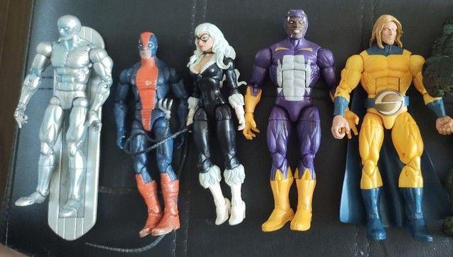Vendo lote de 5 Bonecos Marvel Legends e Toybiz